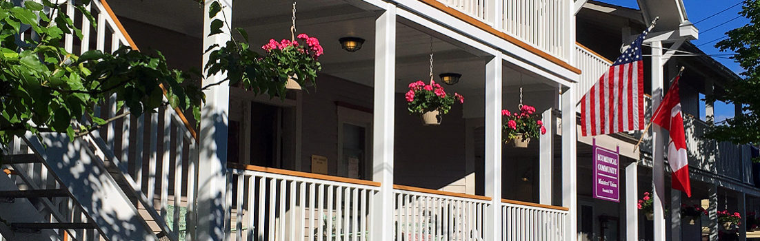 Bird-Werner and Shaw House Newly Renovated Porches