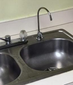 Water filter in Bird-Werner kitchen
