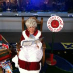 Mrs Claus reading story book